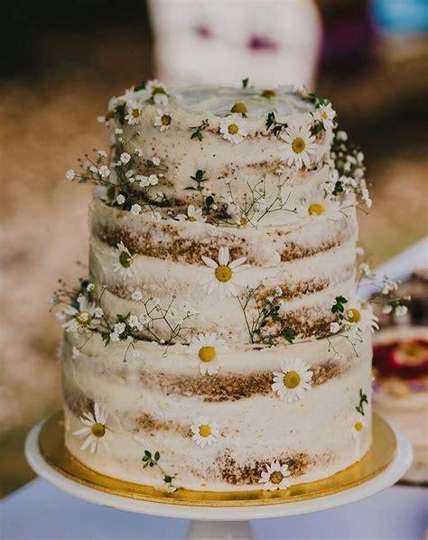 hochzeitstorte rustikal chl wedding cake trends 2018