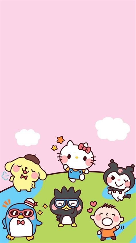 wallpapers hello kitty mobile 9 sanrio characters wallpaper 68 images