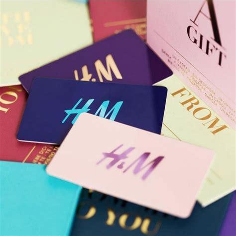 Gift Card H M - rewards propsocial