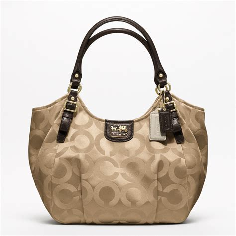 shoulder bag coach op sateen abigail shoulder bag all
