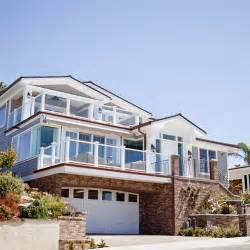 This beach house is located on the sandy shores of san clemente