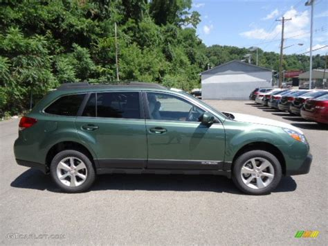 2013 subaru outback colors 2013 cypress green pearl subaru outback 3 6r limited