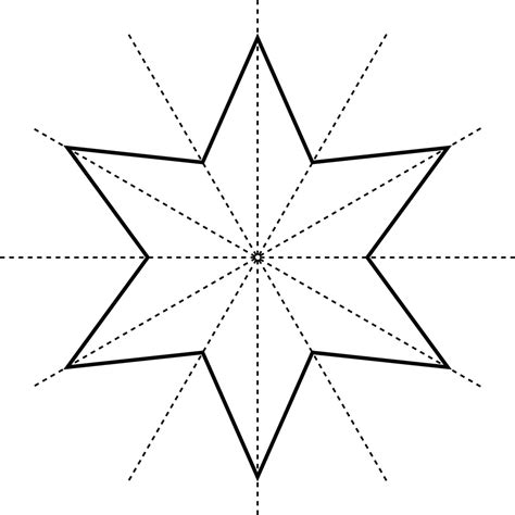 star 6 point clipart etc