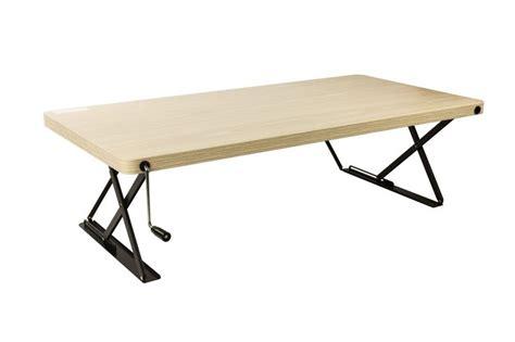 adjustable height desk amazon amazon com halter manual adjustable height top sit