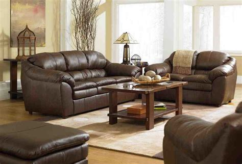 brown leather sofa living room design curtain ideas for brown living room creditrestore with
