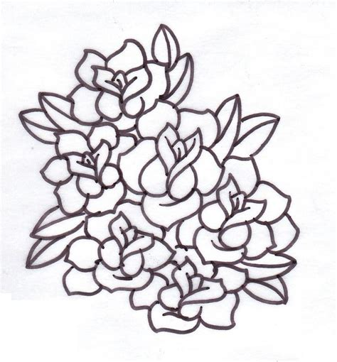 free rose tattoo designs to print free printable stencils cliparts co