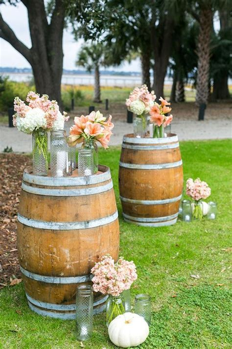 Whiskey Barrel Decor by 25 Best Ideas About Whiskey Barrel Wedding On