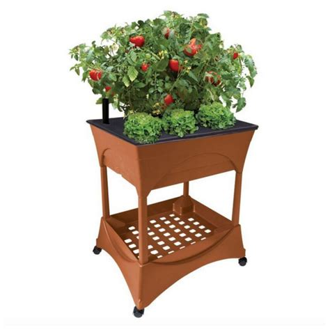 outdoor tall raised elevated garden bed box stand kit