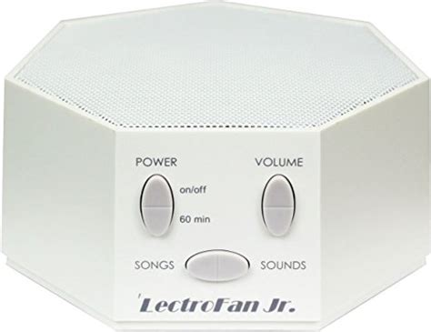fan white noise machine lectrofan jr white noise sound machine with 6 fan and 6