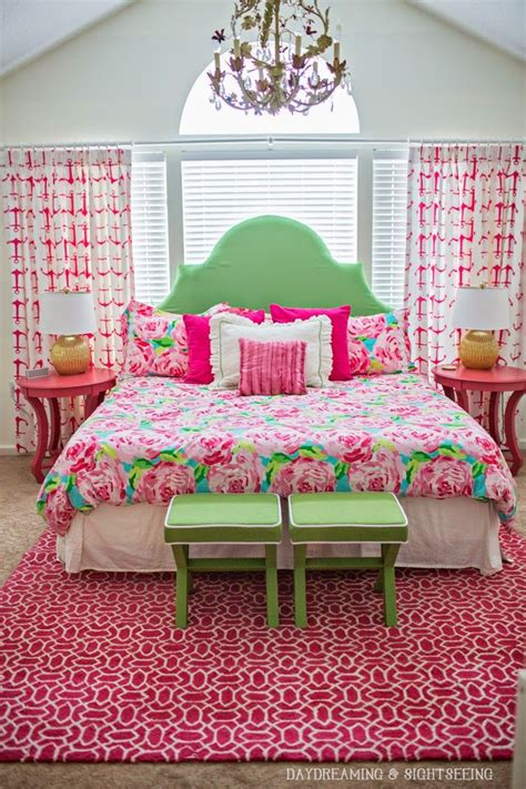 girls bedroom w aqua blue pink green with paris 170 best palm beach chic d 233 cor the glam pad images on