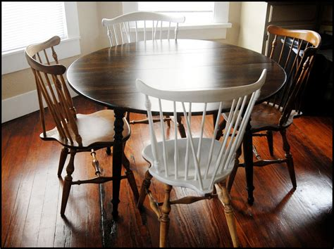 refinishing kitchen table photo desjar interior