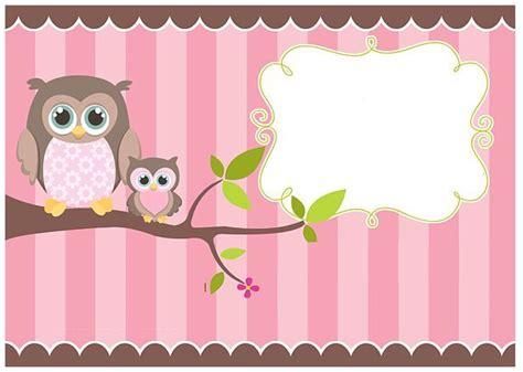 hacer tarjetas de baby shower de buho buhos animados buscar con google etiquetas pinterest