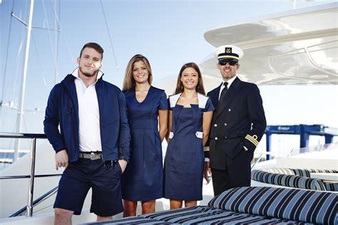 yacht uniform choosing yacht crew uniform designs and fabrics yachting