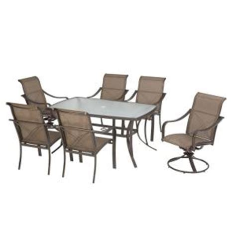 Martha Stewart Patio Furniture Sets by Martha Stewart Grand Bank Patio Dining Table Chairs At