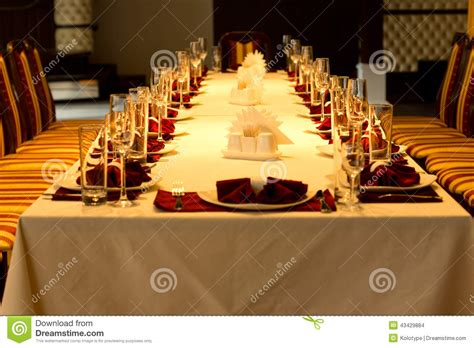 dinner tables pics formal dinner table settings for a special event stock