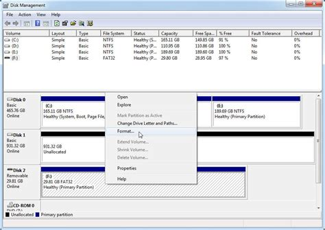 format cd as usb diskpart format usb with command prompt