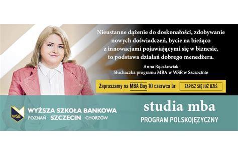 West A M Mba Program by Mba Day W Wyższej Szkole Bankowej W Szczecinie