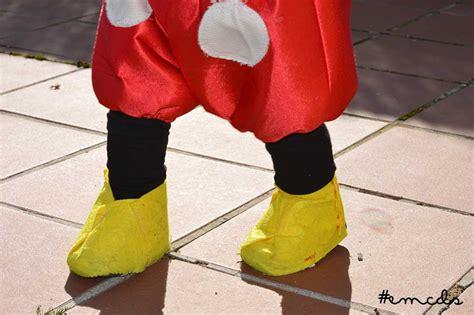 patron para hacer zapatos disfraz de mickey mouse diy disfraz de mickey hecho en casa en mi caj 243 n de sastre