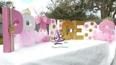 Rent Letters For Baby Shower Royal Princess Baby Shower Royal Princess Theme Royal Princess