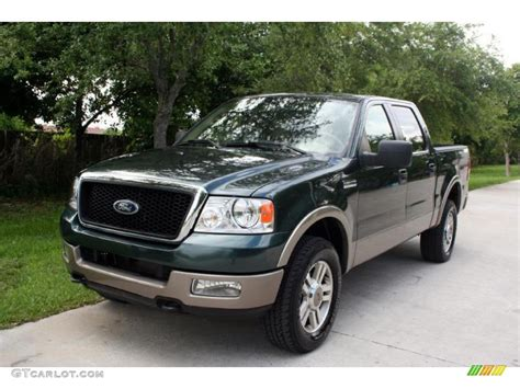 2005 aspen green metallic ford f150 lariat supercrew 4x4 31080025 photo 61 gtcarlot