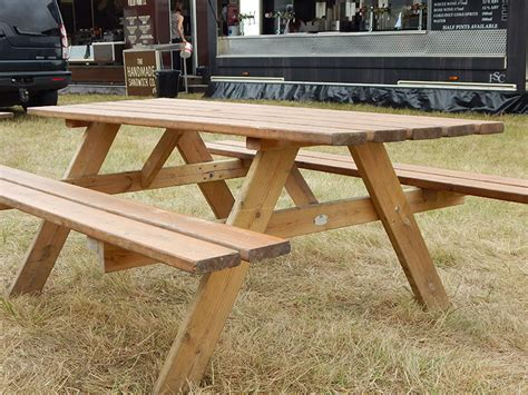 hire picnic benches picnic bench event hire uk