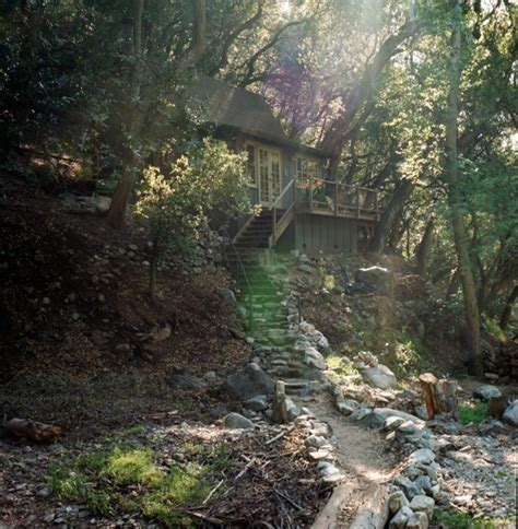 Cabins In National Forest by Reclaimed Tiny Cabin In The Angeles National Forest Tiny