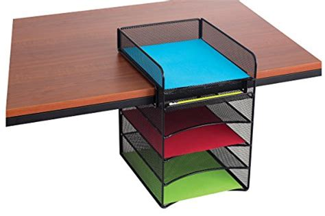 File Racks Desks by Mesh Hanging Desk Organizer File Folder Letter Tray