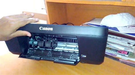 reset printer canon e400 how to replace change open ink cartridge from canon pixma