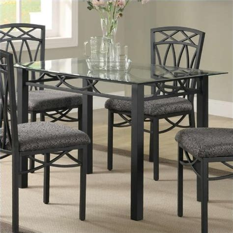Coaster Home Furnishings Dining Table Gt Gt Gt Sale Coaster Home Furnishings Transitional Dining Table Black Best Buy Brantsso1