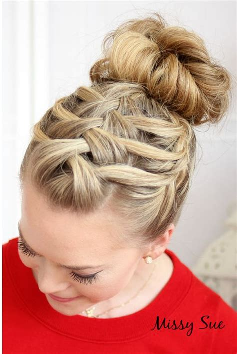hair braided up into a bun style 12 stunning french braid hairstyles pretty designs