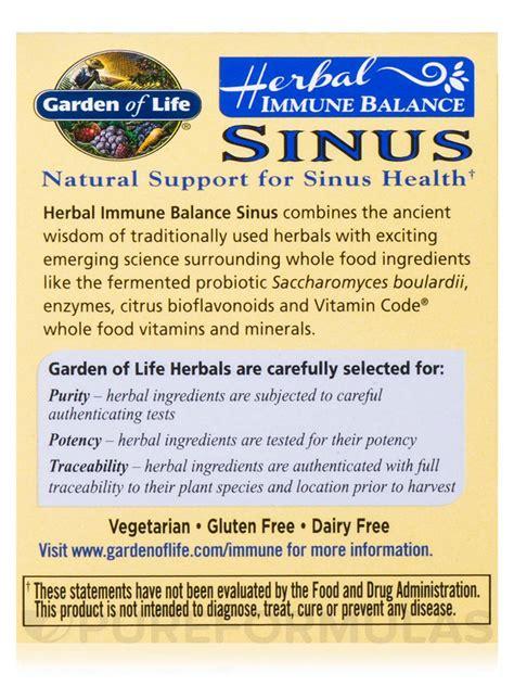 Garden Of Sinus Immune Balance Sinus 60 Capsules