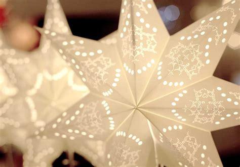 papierstern mit beleuchtung best season weihnachtsstern beleuchtet papierstern