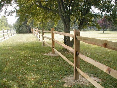 split rail fence black locust post and rail fence ebay