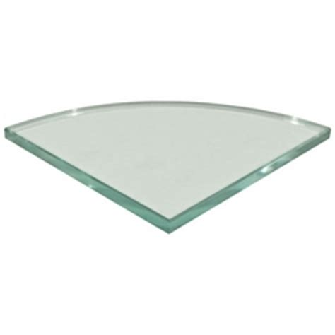 glass corner shower shelf floor decor