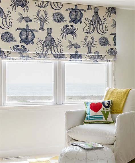 Nautical Blinds make nautical and coastal shades completely coastal