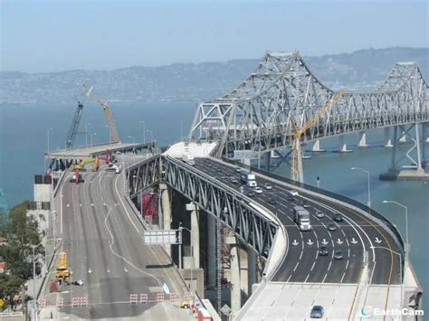 s day bridge time lapse of bay bridge construction labor day weekend