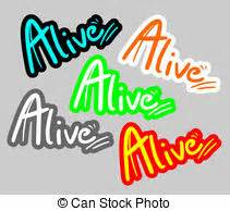 alive clip art alive stock illustration images 15 395 alive