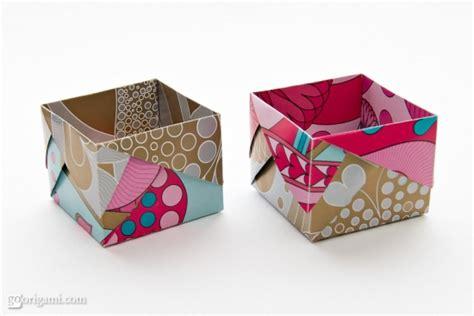 Self Closing Origami Box - origami boxes by robin glynn and sprung go origami