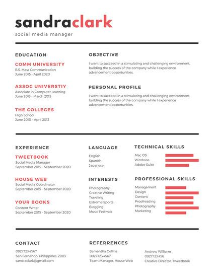 social media manager resume cover letter magnificent snapshot