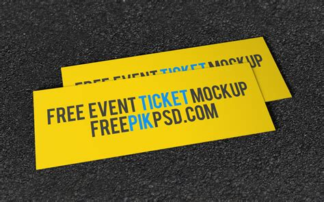 ticket template psd event ticket free psd mockup responsive joomla and