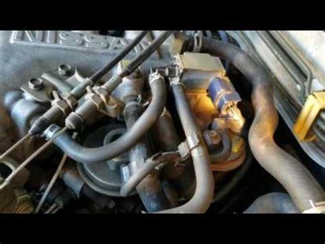 nissan pathfinder fuel injector  valve cover