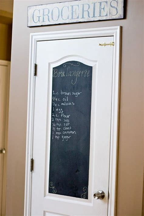 chalkboard paint door best 25 chalkboard pantry doors ideas on