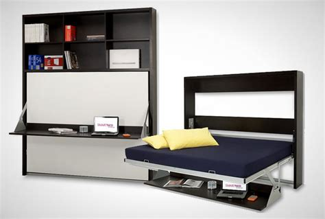 Murphy Bed With Desk Canada 10 Murphy Beds That Maximize Small Spaces Brit Co