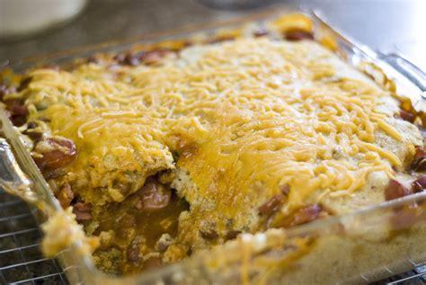 chili cheese corn dogs chili cheese corn casserole