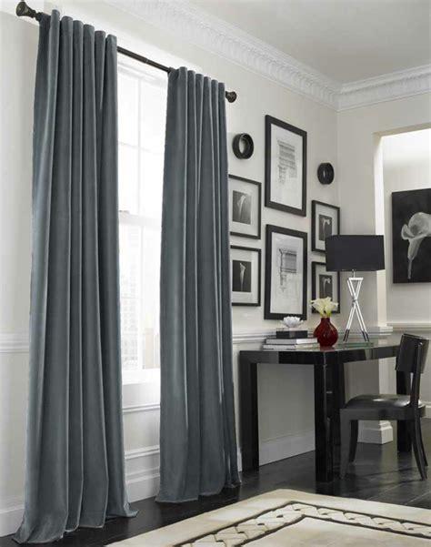 einrichten mit farben graue farbe mehr als melancholie - Graue Gardinen