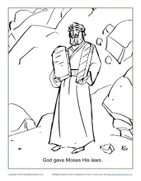 lawyer s coloring book pdf god gave moses the ten commandments coloring page