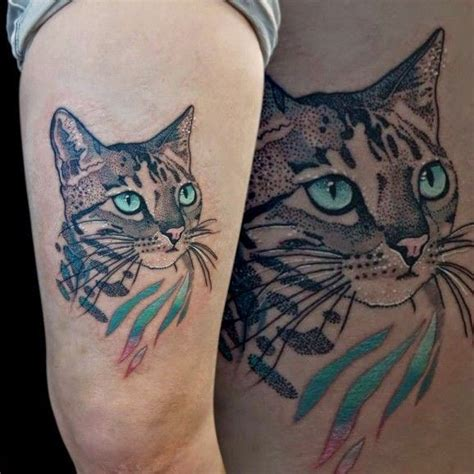 tattoo cat dots excellent cat tattoos ideas part 4 tattooimages biz
