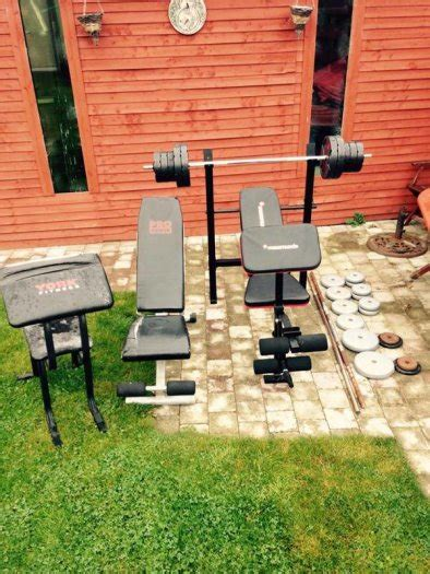 bench and weights package maximuscle bench and weight package other for sale in
