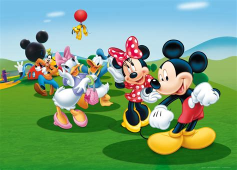 xxl poster wall mural wallpaper disney mickey mouse donald