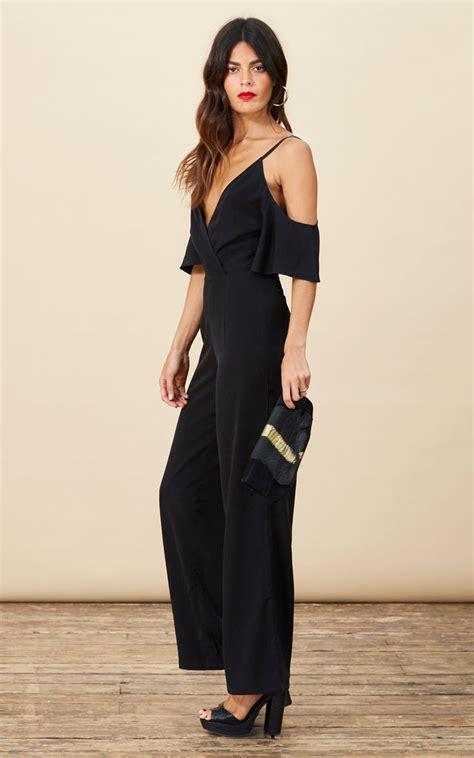 Keiko Black keiko jumpsuit in black silkfred